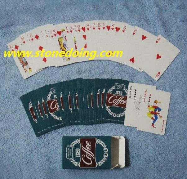 Mini Playing Cards in Plastic Tube Box 4