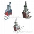 PCB-Mounting Sub-Miniature Toggle Switch
