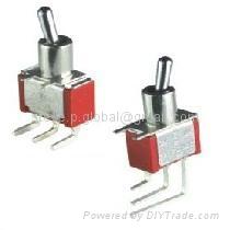 PCB-Mounting Miniature Toggle Switch