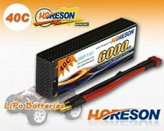 HORESON 40C Line RC Car lipo packs