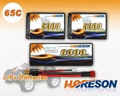 HORESON 65C Line RC Car lipo packs