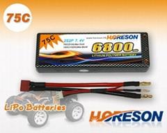 HORESON 75C Line RC Car lipo packs
