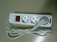 NF-CA03 europe floor socket with cord