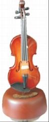 mini violin music box