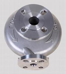 steel pipe valve body