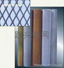 钢板网拉伸网菱形网