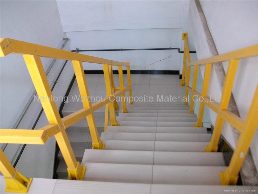 Fiberglass Framing Material : Frp handrail wz wuzhou china manufacturer