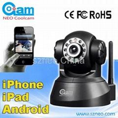wireless wifi ip camera with  IR night vision 15m