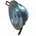 LED downlight with CE or SAA driver