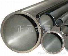 Titanium and titanium alloy pipe