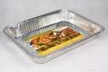 Rectangle aluminum foil tray