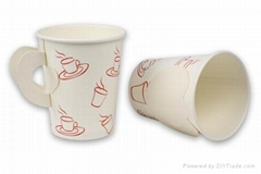 8oz paper cup with handle