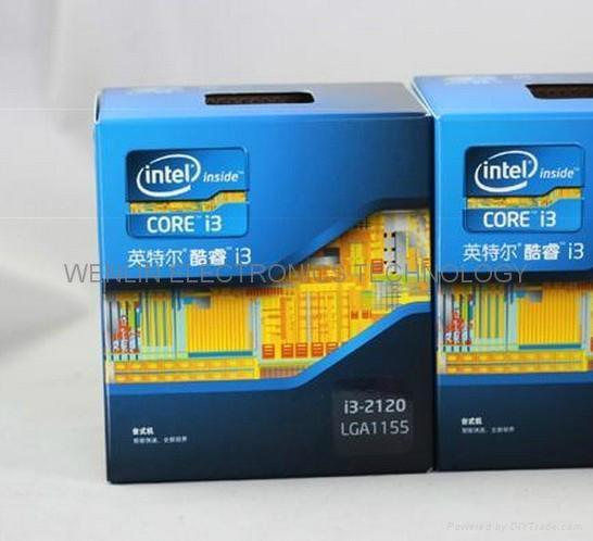 Intel Core I3 2120 CPU 3.3 GHz 32 Nm Processor 2