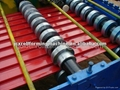 metal roll shutter door making machine