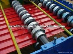 metal roll shutter door making machine