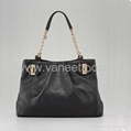 Cow leather handbag bag with chain. Luxury handbag For wowen