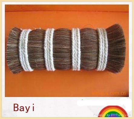 horse body hair for make up brush 3
