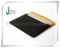 Macbook air bag of leather