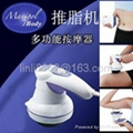 Manipol body massager with 5 heads