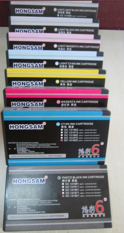 適用於EPSON PRO7800水性顏料墨盒 1