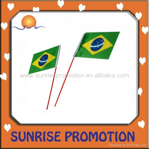 2012 Promotional Hand Flag,Good Quality  2