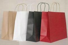 Kraft paper Environmental protection shopping bag/garment packaging bag
