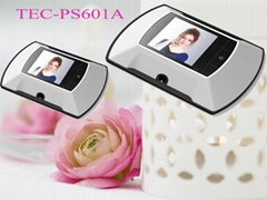 Wholesale Price Digital Peephole Viewer TEC-PS601A with LCD Display