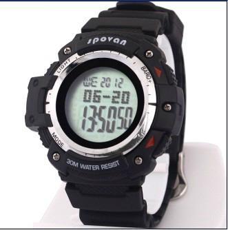 spovan Multi function Digital Sport watch+Barometer+Altimeter+Temperature+shock 3