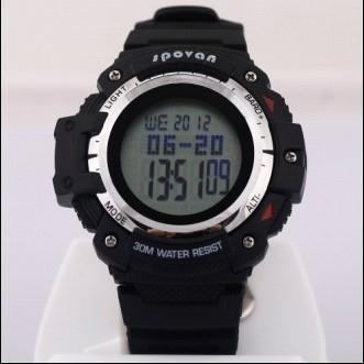 Climber Multi Function Digital Sport Watch Barometer Altimeter Temperature Shock 1