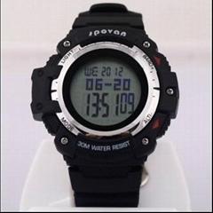 Climber Multi Function Digital Sport Watch Barometer Altimeter Temperature Shock