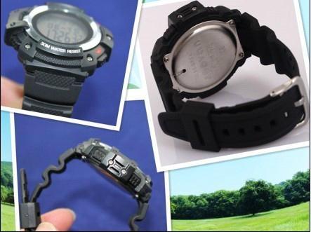 Climber Multi Function Digital Sport Watch Barometer Altimeter Temperature Shock 5