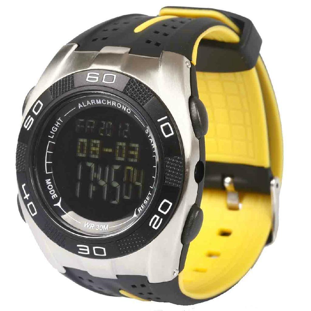 Climber Multi Function Digital Sport Watch+Barometer+Altimeter+Temperature+Shock 1