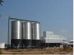 wheat  storage silo