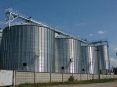 steel silo for grain