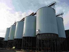 grain silo for feed