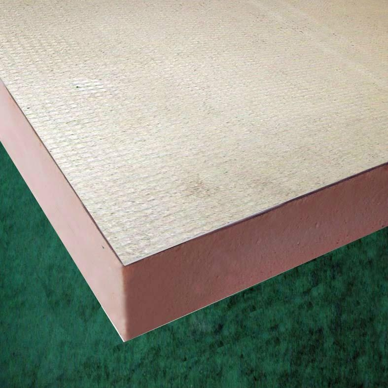 Phenolic foam wall insulation board with cement mortar for Concrete foam walls