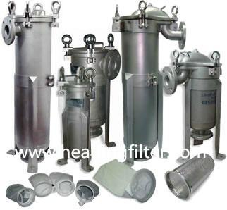 Polypropylene Needle Felt liquid filter bag  2
