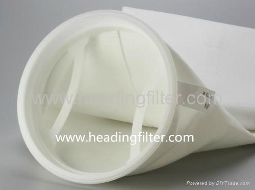 Polypropylene Needle Felt liquid filter bag  5