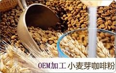 小麥芽咖啡粉加工貼牌OEM 專業GMP認証廠家