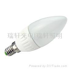 LED candle ball bulbs