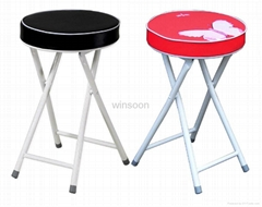 Cheap Padded Portable Folding Stool
