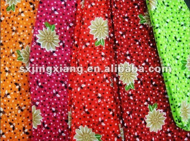 100% Printed Viscose Fabric  3