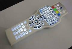 IPTV remote control with 2.4G RF wireless mini keyboard mouse and IR learning
