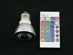 RGB七彩遙控射燈