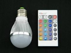 RGB七彩遙控燈