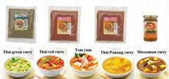 Thai hot curry paste
