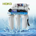 Household booster pump RO System