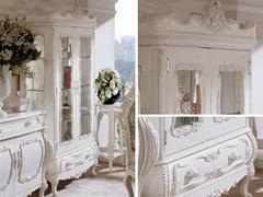 法式風格別墅傢具定製酒櫃OB003