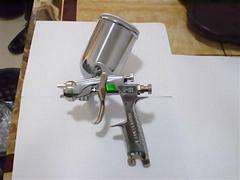 Anest Iwata manual spray gun W-101,Made in Japan