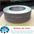abrasive polishing wheel for pdc
